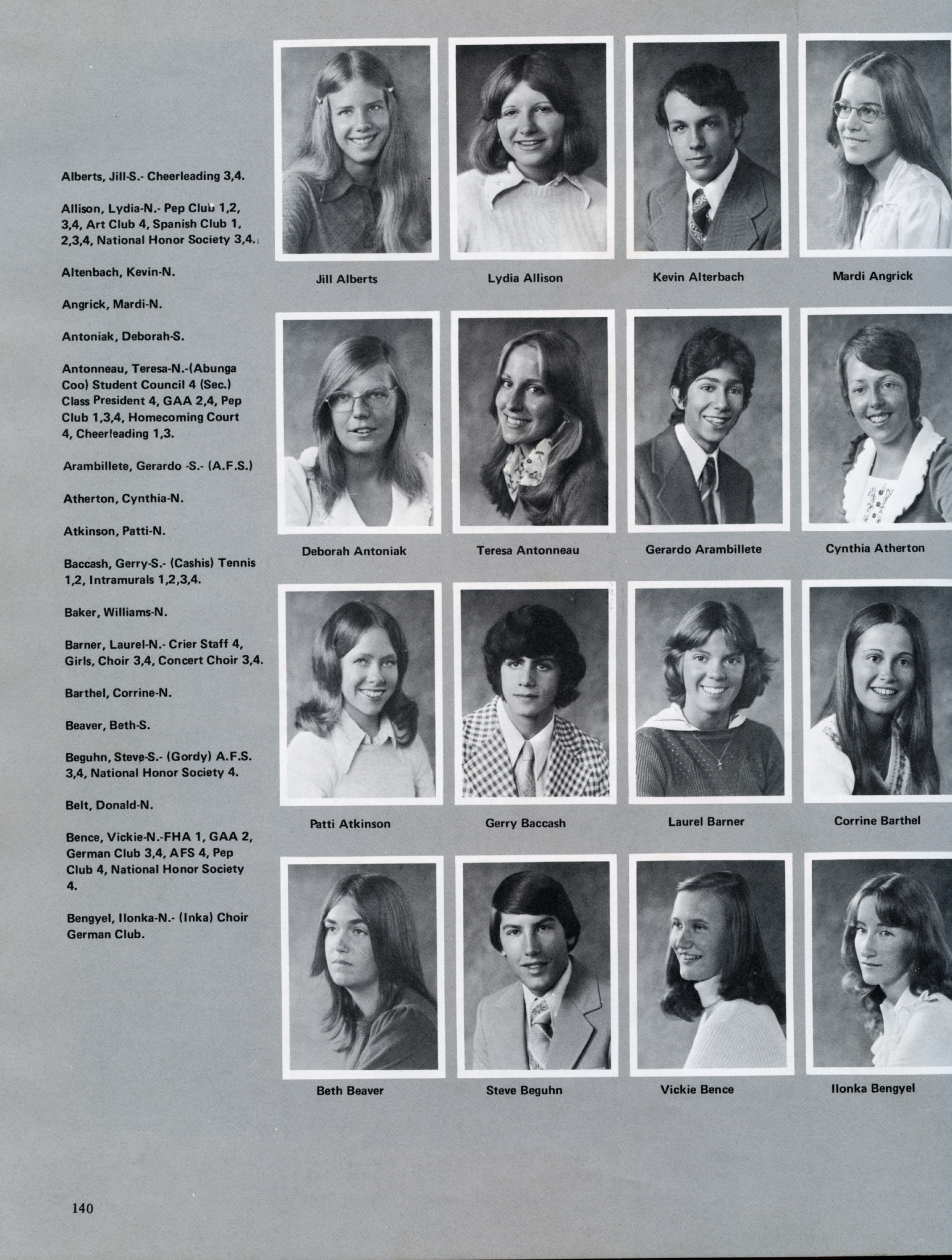 OHS Reflections 1975 140