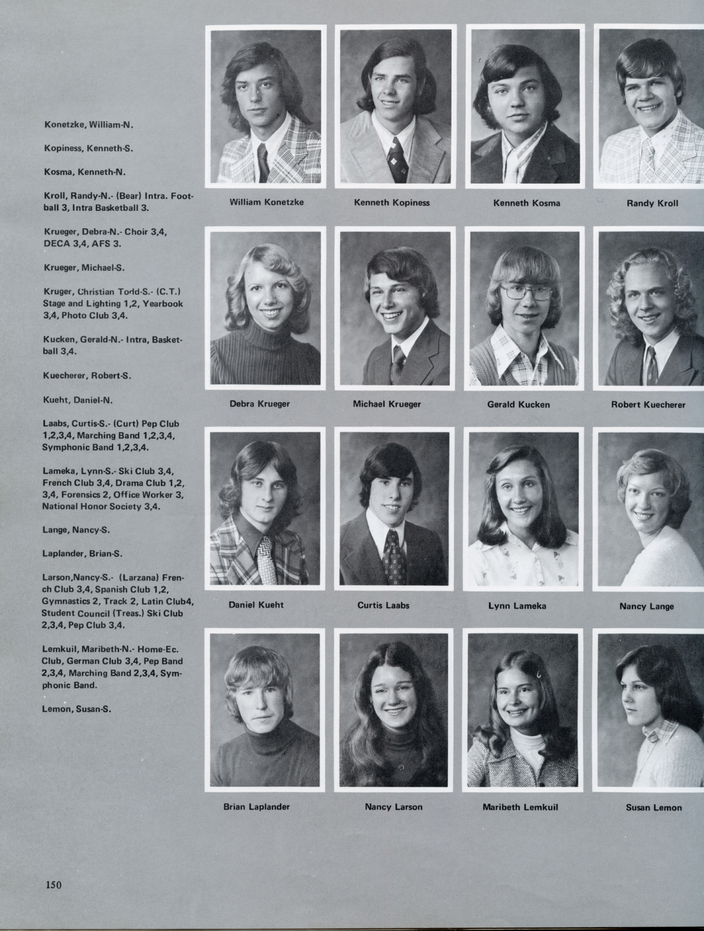 OHS Reflections 1975 148